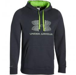 Under Armour Herre Hoodie Dark Green